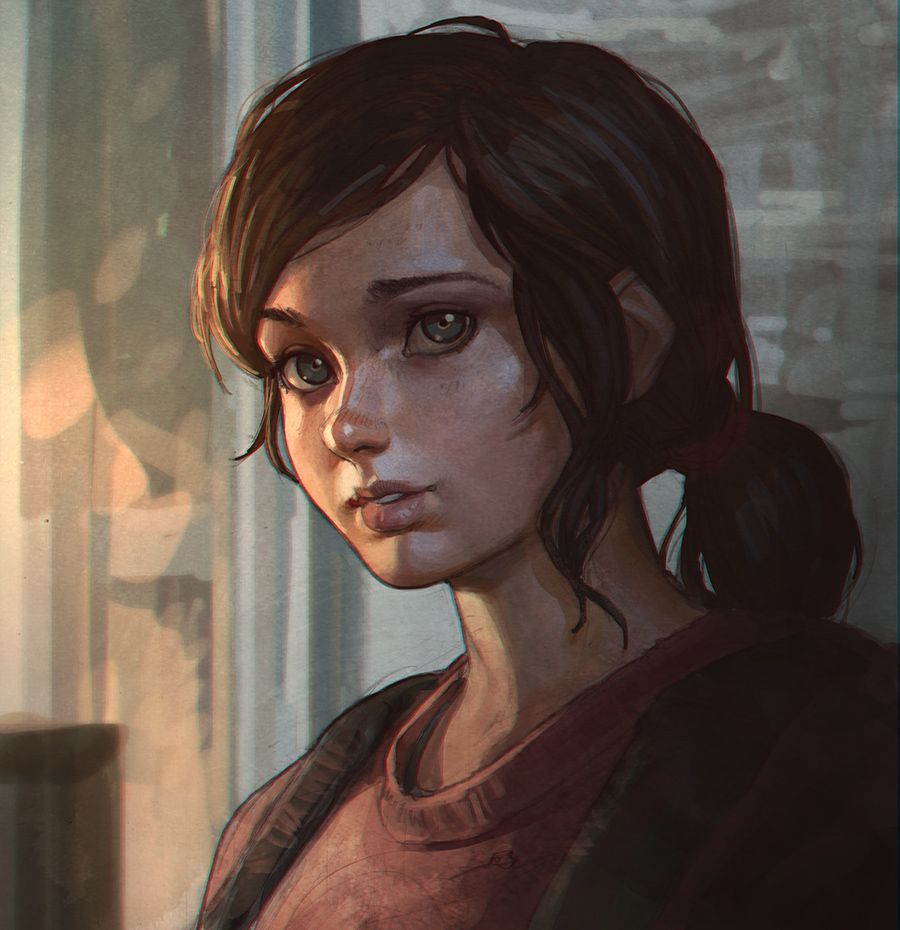 Ellie The Last Of Us by KR0NPR1NZ.deviantart.com on