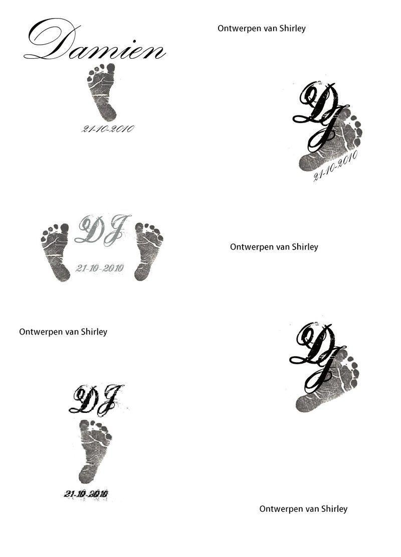Mij Tattoo Designs Baby Name Tattoos Baby Feet Tattoos Boy Tattoos