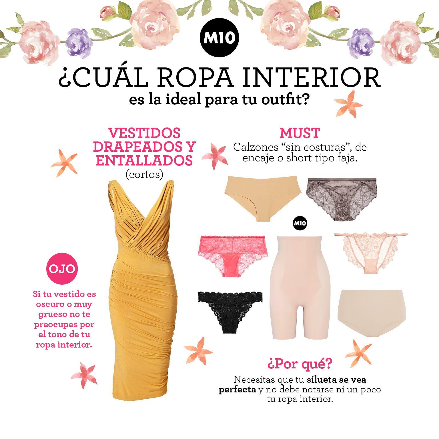 94c53e1057d7 Qué tipo de ropa interior usar con cada prenda? | Guía de Estilo ...