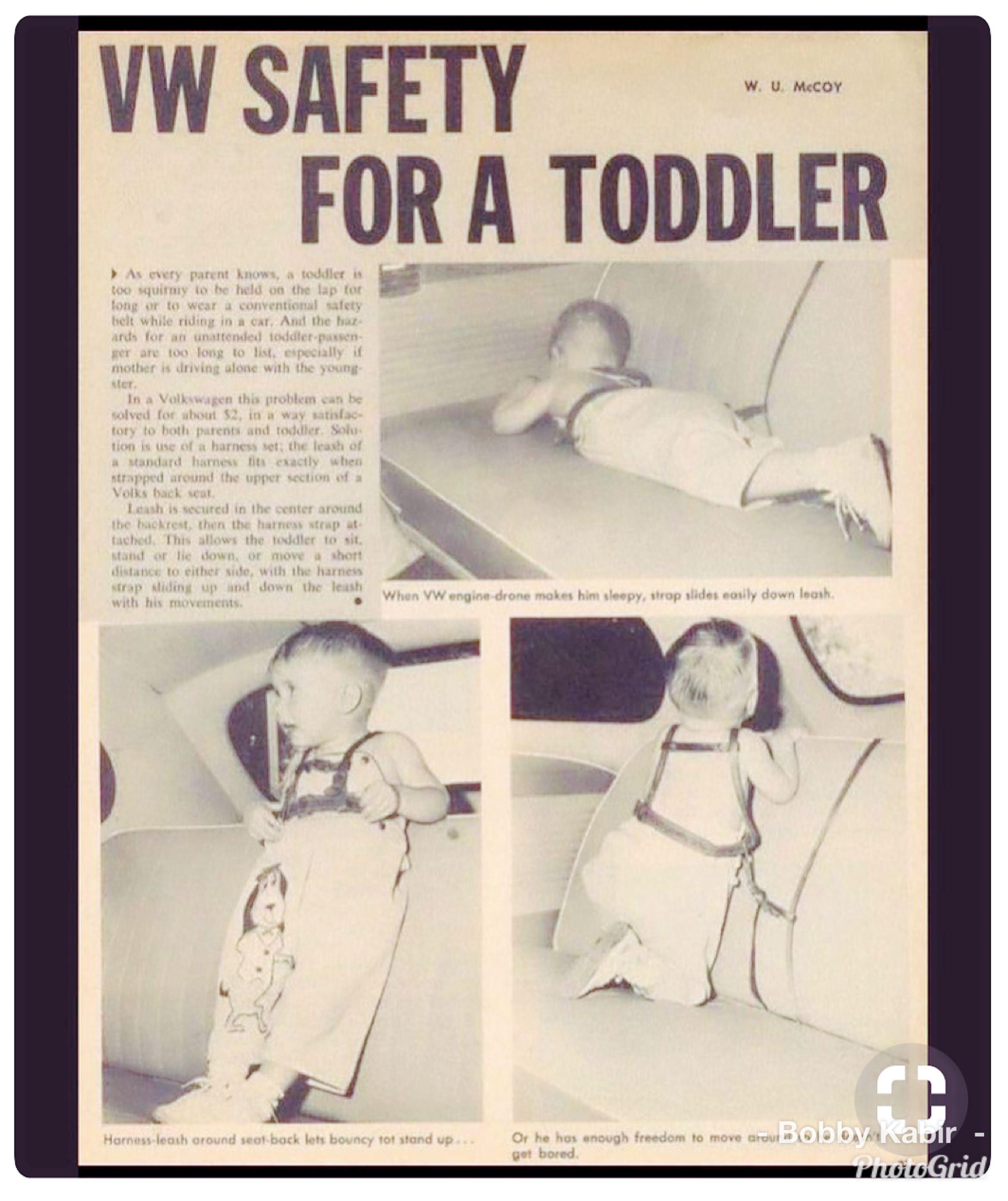 Volkswagen Safety         !! | Autos | Funny vintage ads