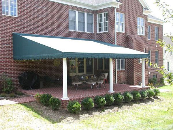 How Can I Shade My Home With Awnings Residential Awnings Canvas Awnings My Home