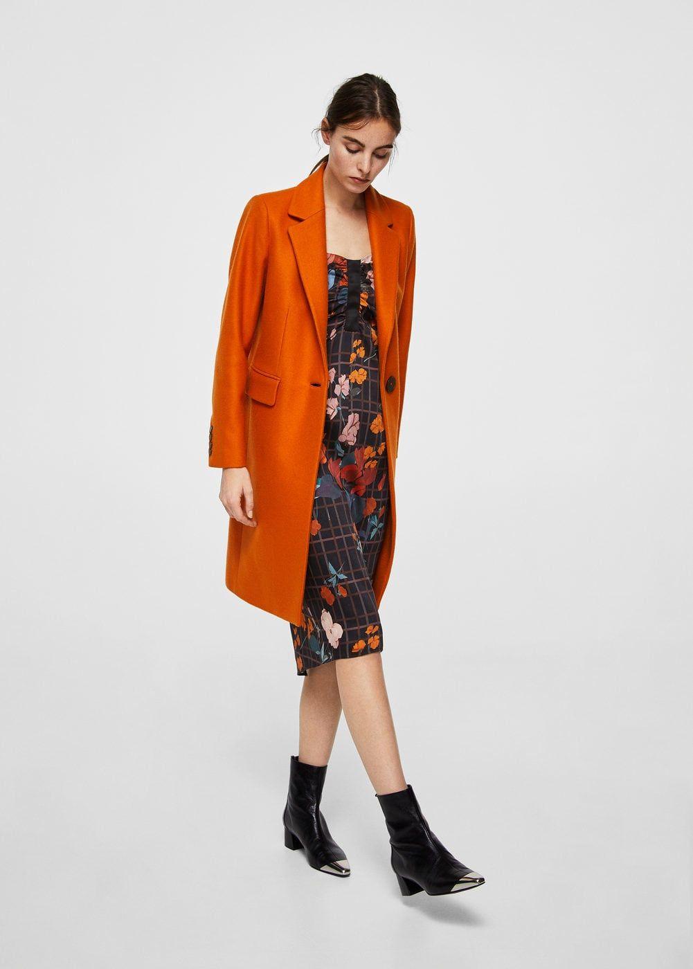2ec519f32d98 Contrasting print dress - Woman