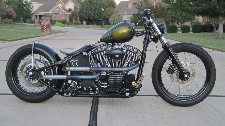 Night Train Springer Bobber Styled Page 10 Harley Davidson Forums Harley Davidson Forum Harley Davidson Motorcycles Softail