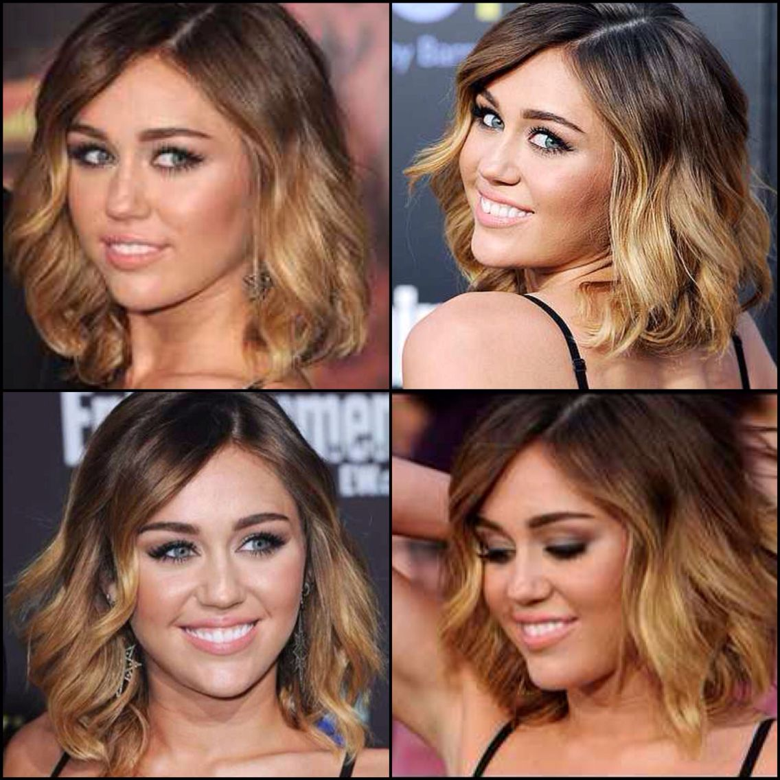 I don't like Miley but I love the haircut and color!