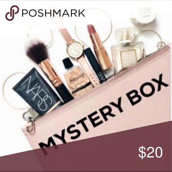 15 item luxury makeup mystery box sampler bag A fun