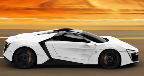 Qatar Motor Show 2013: Exclusive LykanHypersport 2013 Luxury Supersports Car  Priced At $ 3,400,000