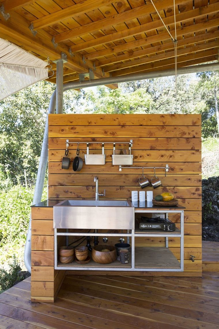 cocina al aire libre   Arquitectura   Pinterest   Casas pequeñas ...