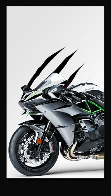 Kawasaki H2 IPhone 6 Wallpaper