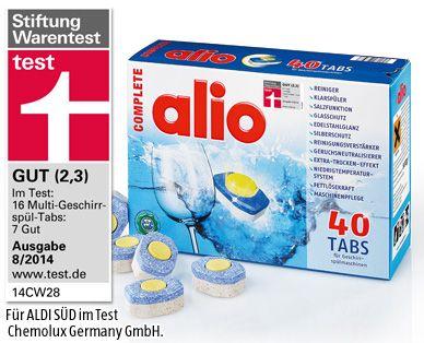 Complete Spulmaschinen Tabs Aldi Produkte Aldi Produkte