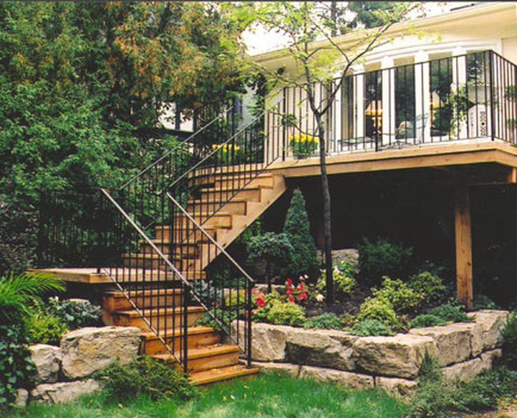 Best Pin By Paerie P On H O M E Deck Landscaping Deck Stairs 400 x 300