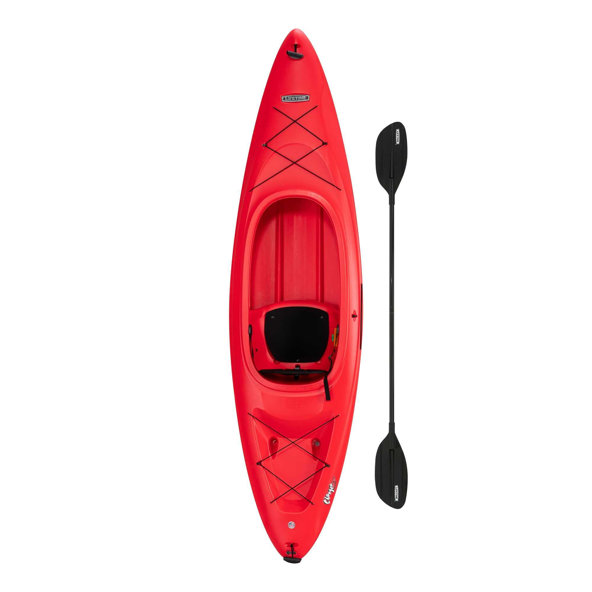 Lifetime Charger 10 ft Sitin Kayak (Paddle Included