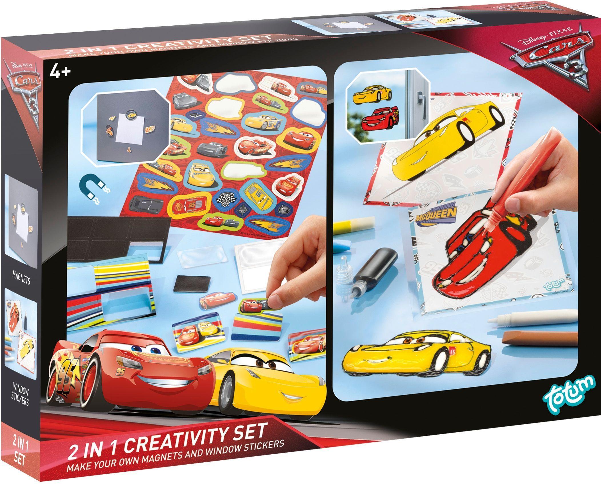 Creativity Set Cars 3 Totum 2 In 1 141063 Stickers Creativiteit Voor Kinderen