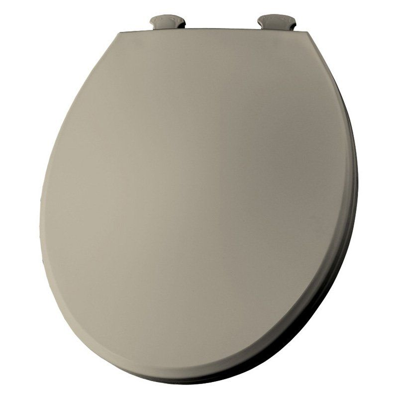 Fantastic Bemis B1800Ec006 Elongated Closed Front Toilet Seat With Creativecarmelina Interior Chair Design Creativecarmelinacom