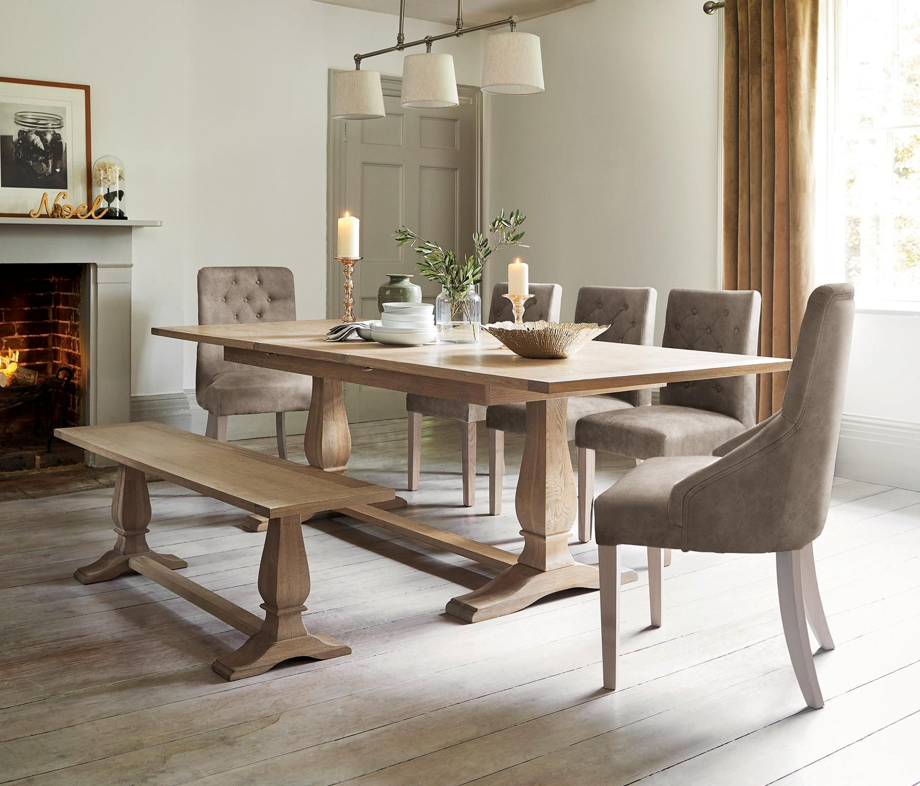Buy hardwick 6 10 seater extending dining table from the next uk online shop