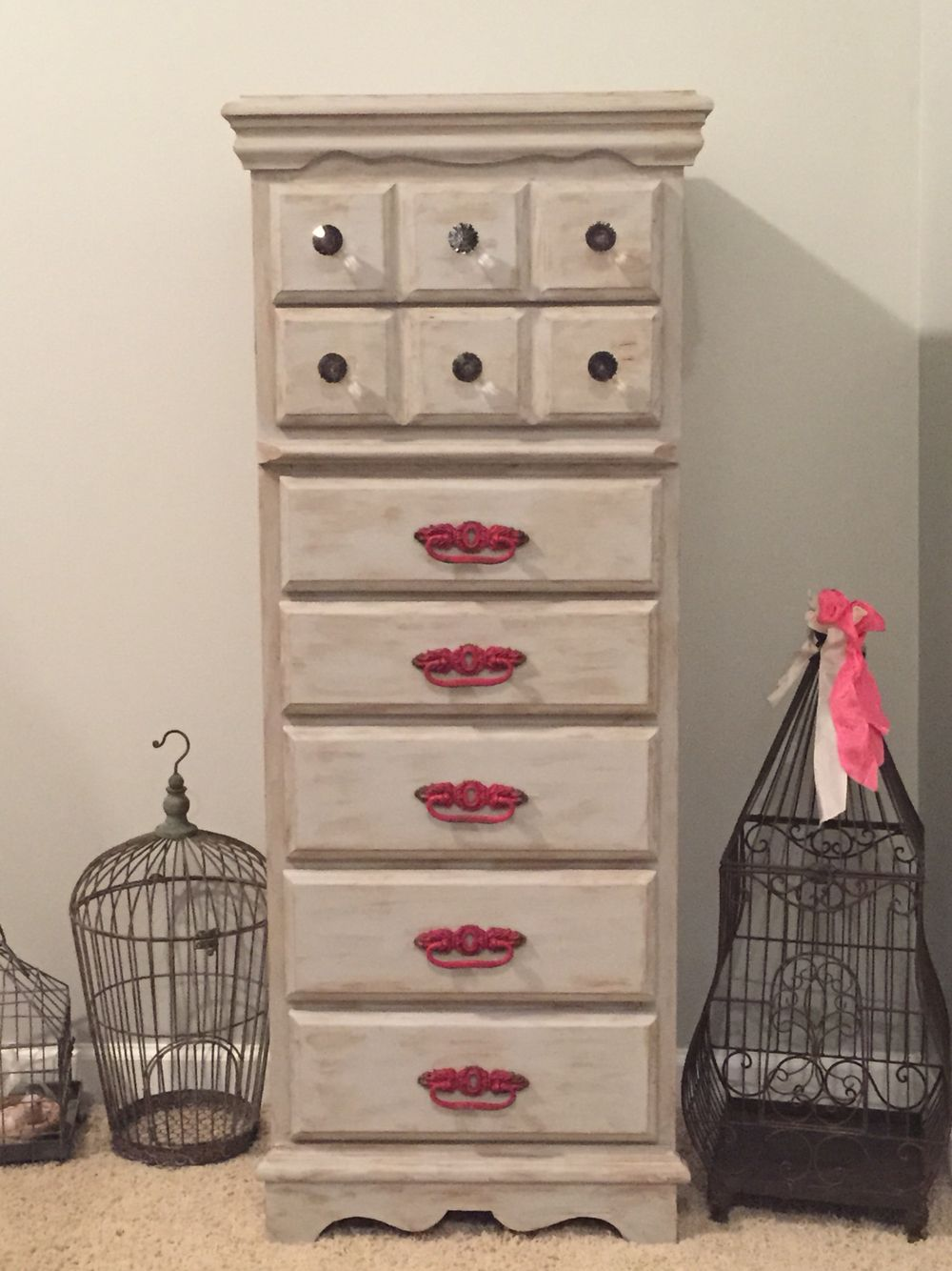 first chalk paint project silver lining waverly chalk paint