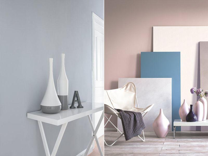 Wandfarben in Pastell Eine große Auswahl an Pastelltönen findest du
