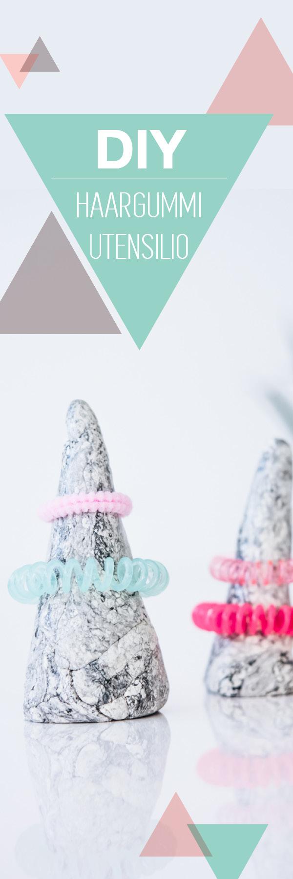 Haargummis aufbewahren – einfaches Utensilio für Kinder | DIY ideas