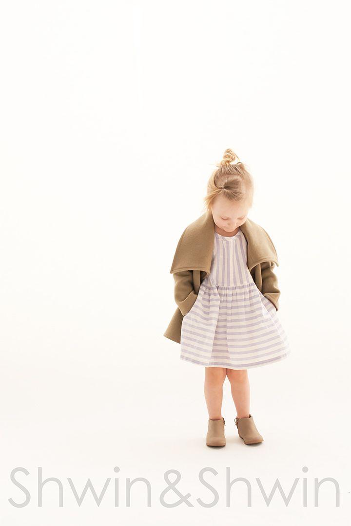 Nina Coat and Penny Lane Top&Dress Pattern | A Modern Thread ...