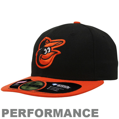 3fcbccf927cb4b ... best black new era baltimore orioles hat. the on field 59fifty fitted  hat from new