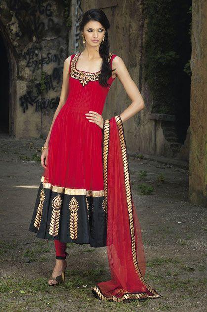 RED CHURIDAR KURTA: Benzer WebStore | Clothing Inspiration | Pinterest