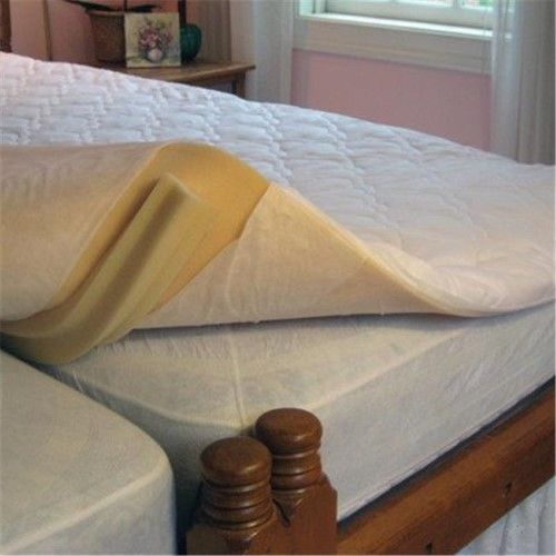 Best Kingmaker 2 Inch Twin Bed Connector Mattress Pad Bed 640 x 480
