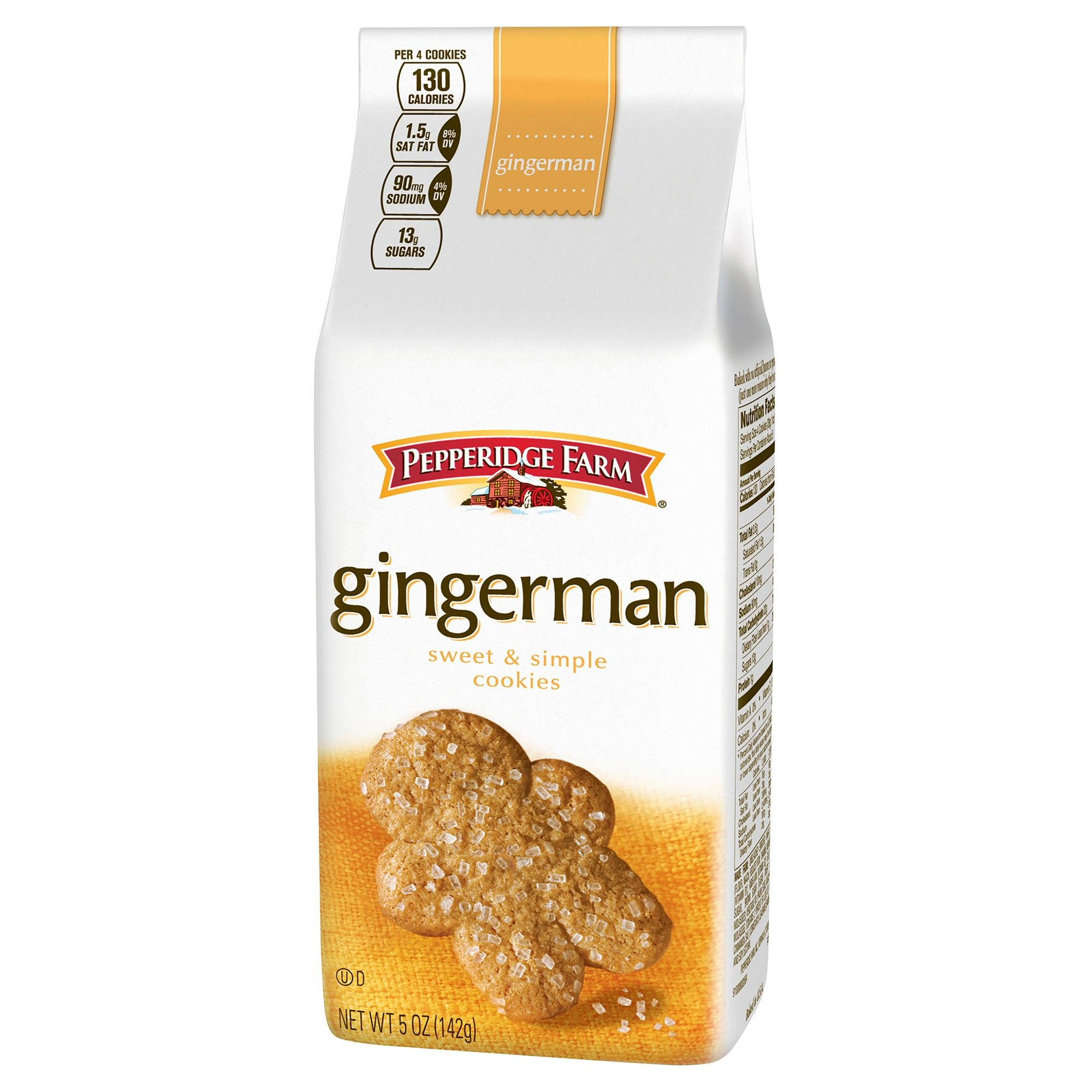 Pepperidge Farm Gingerman Cookies 5oz Pepperidge farm