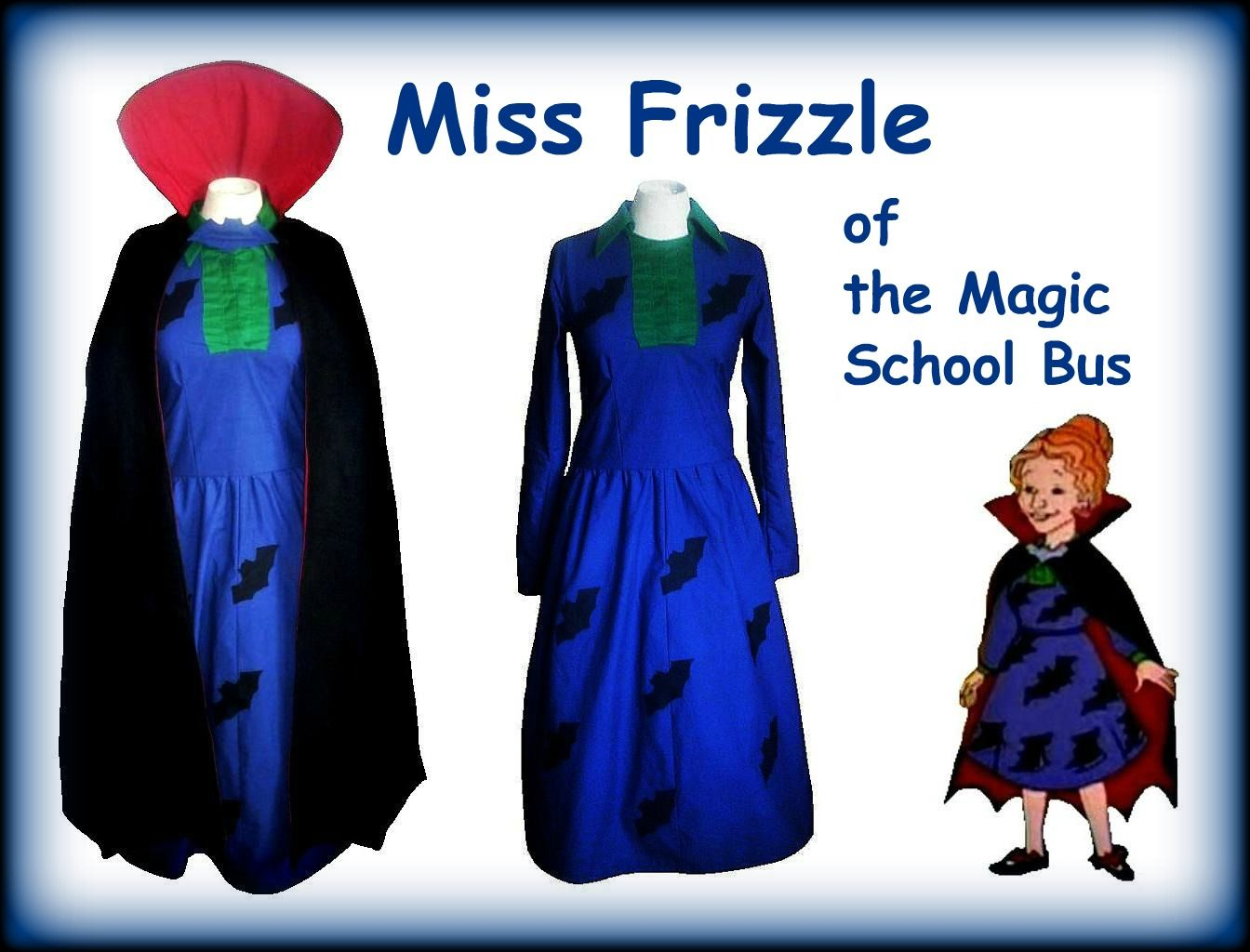 miss frizzle going batty costume
