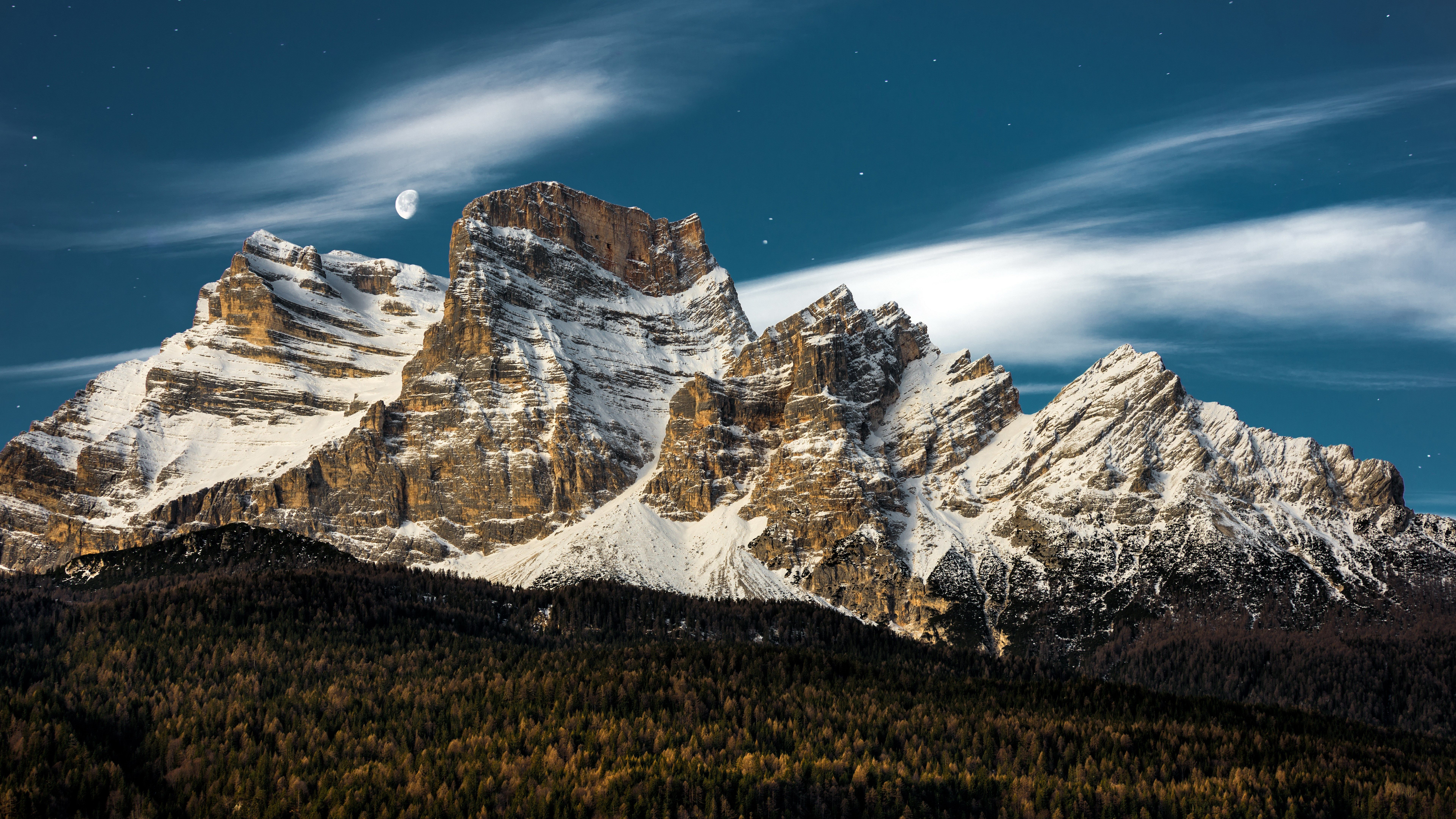 8k Wallpaper Nature Mountain