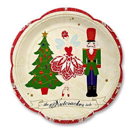 The Nutcracker Paper Plates 23cm  sc 1 st  Pinterest & The Nutcracker Paper Plates 23cm | Ideas party Wonderful time and ...