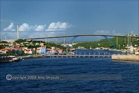Queen Juliana Bridge Queen Emma Bridge, Curacao |