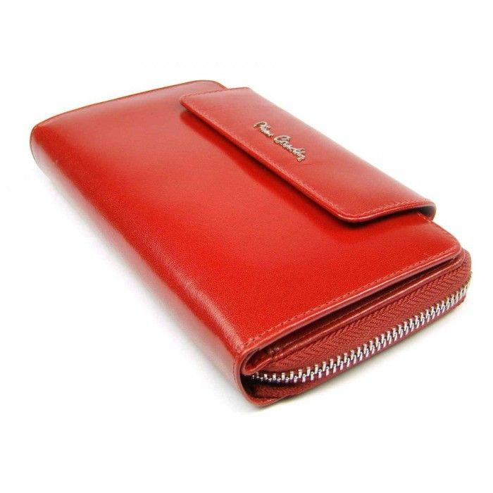 Velká dámská kožená peněženka s krabičkou - peněženky AHAL  90a1dc9e87