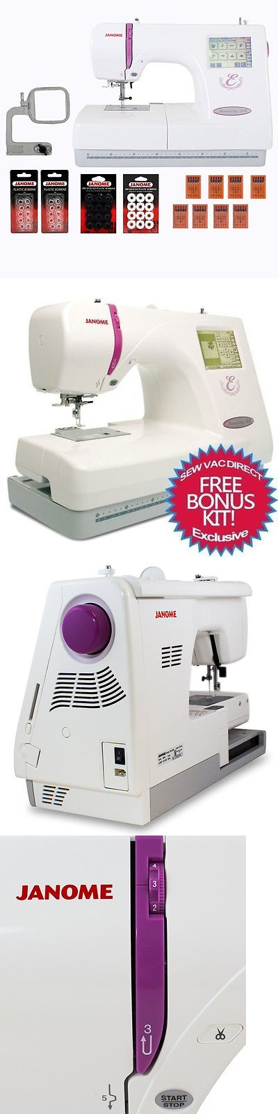 Embroidery Machines 71196 Janome Memory Craft 350e Embroidery