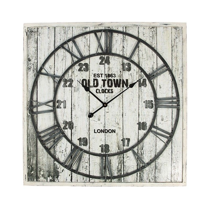 Large Contemporary Wall Clocks Old Town Clock Decorative Wall