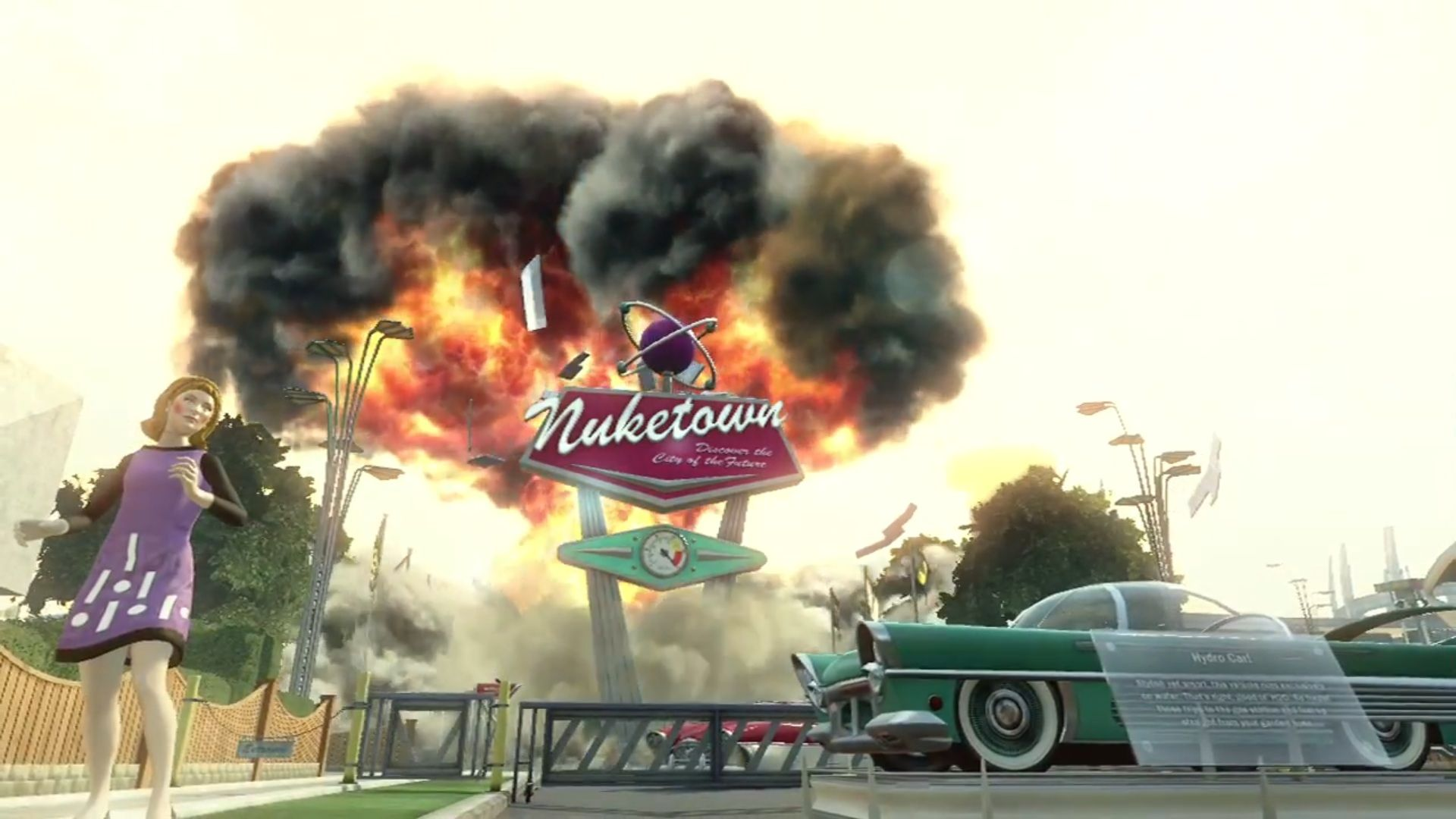 Call Of Duty Black Ops 2 'Welcome To Nuketown 2025' Trailer