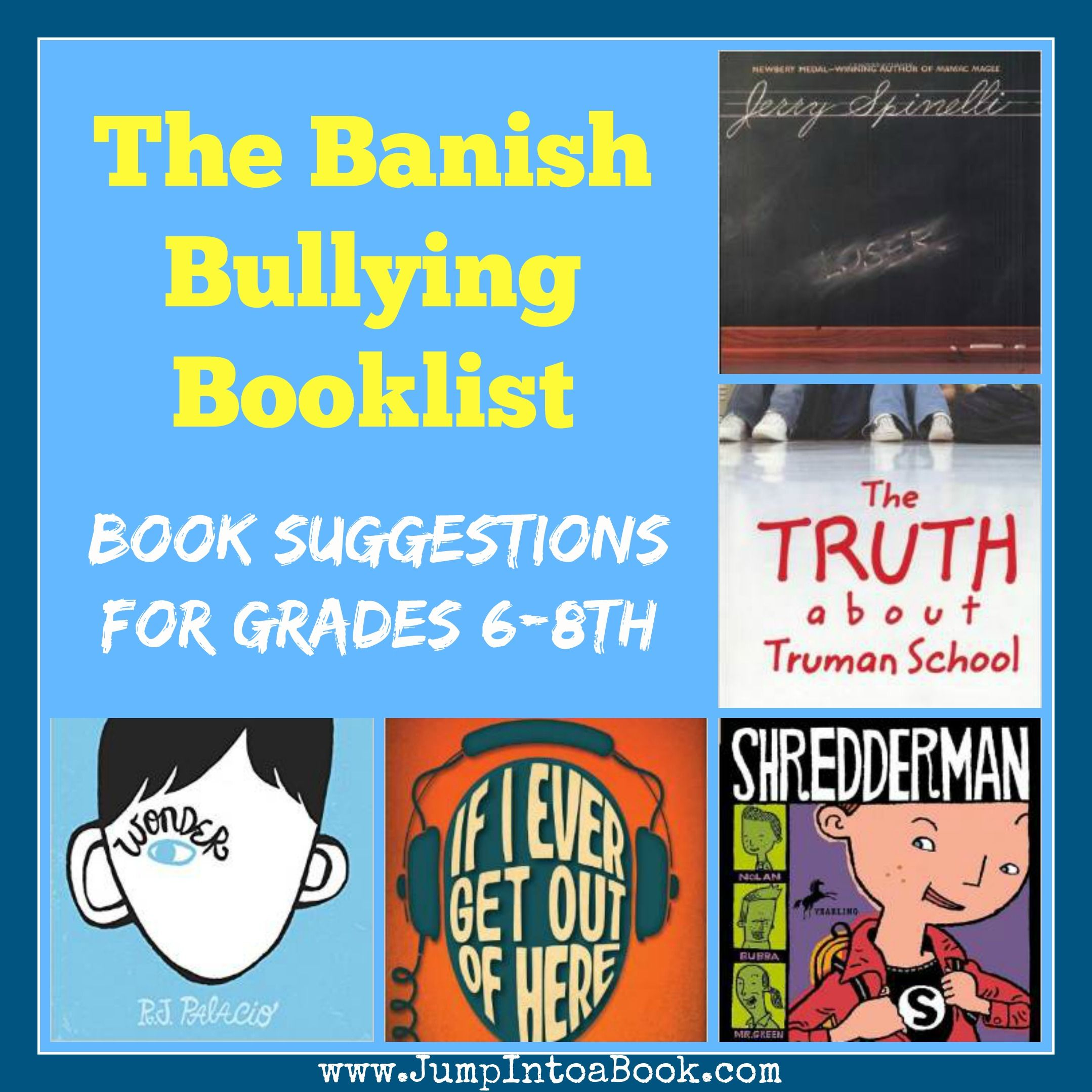 The Banish Bullying Booklist Reading Our Way To