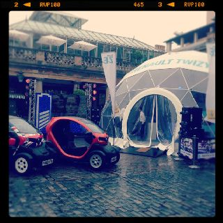 Renault Twizy campaign, east piazza- 7th July