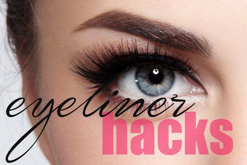 Eyeliner Hacks - Tricks to Apply Eyeliner