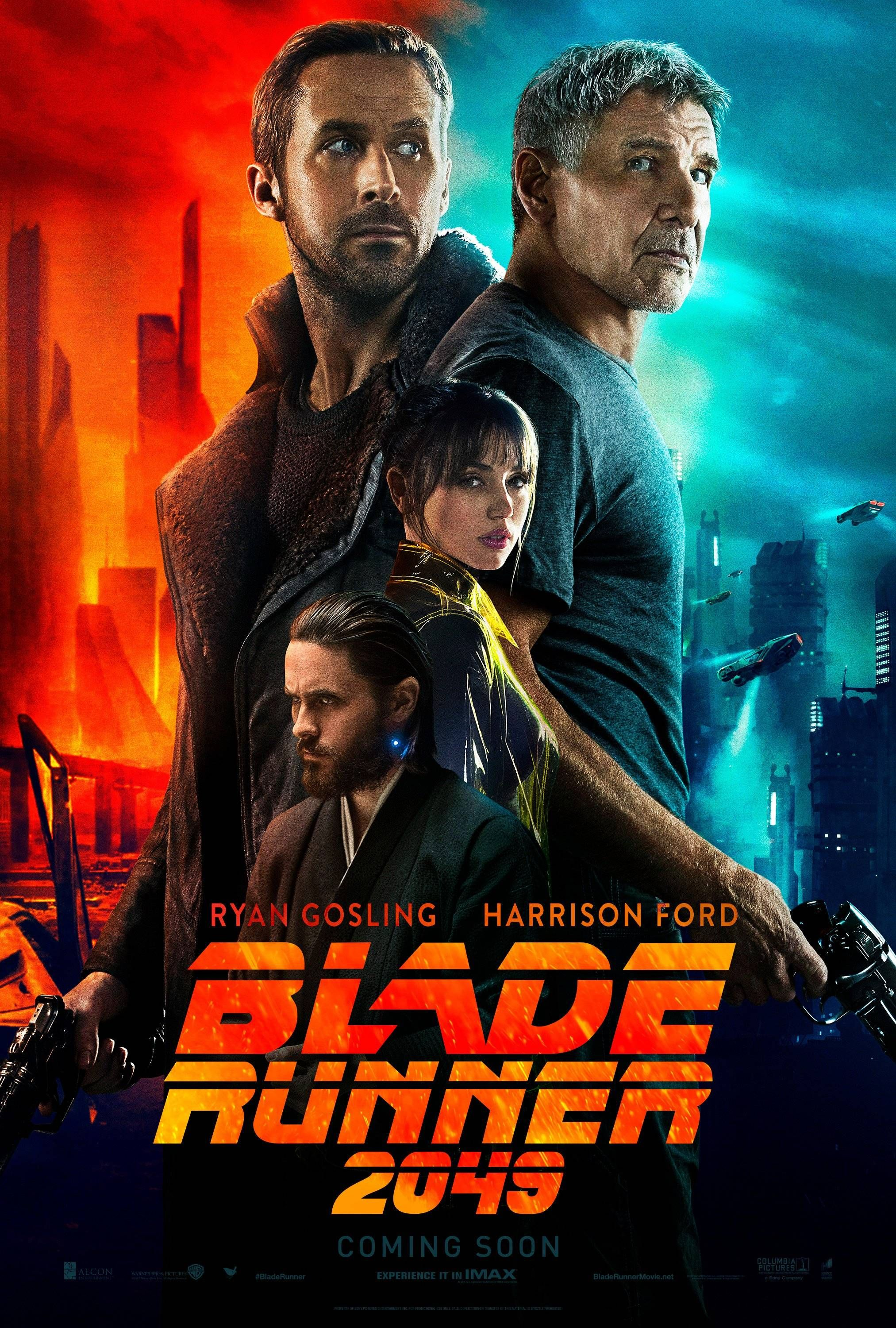 New \'Blade Runner 2049\' International Poster | Movies/Tv shows ...
