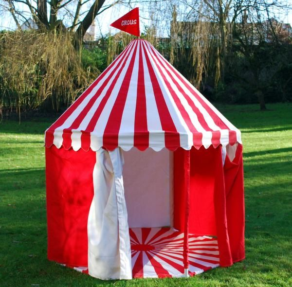 Childrens Large Circus Big Top Play Tent - Red / White - EarlyWhirly - The Best & Childrens Large Circus Big Top Play Tent - Red / White ...