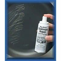 Non-stick cookware repair spray to recoat damaged cookware | D I Y