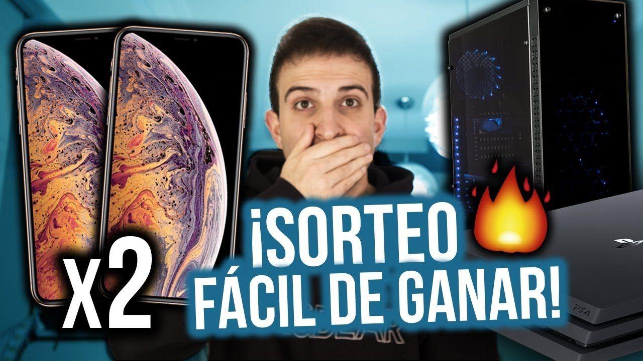 Sorteo 2 Iphone Xs Max Pc Gamer Y Ps4 Pro Sorteo Internacional 2019 Youtube Music Enjoyment
