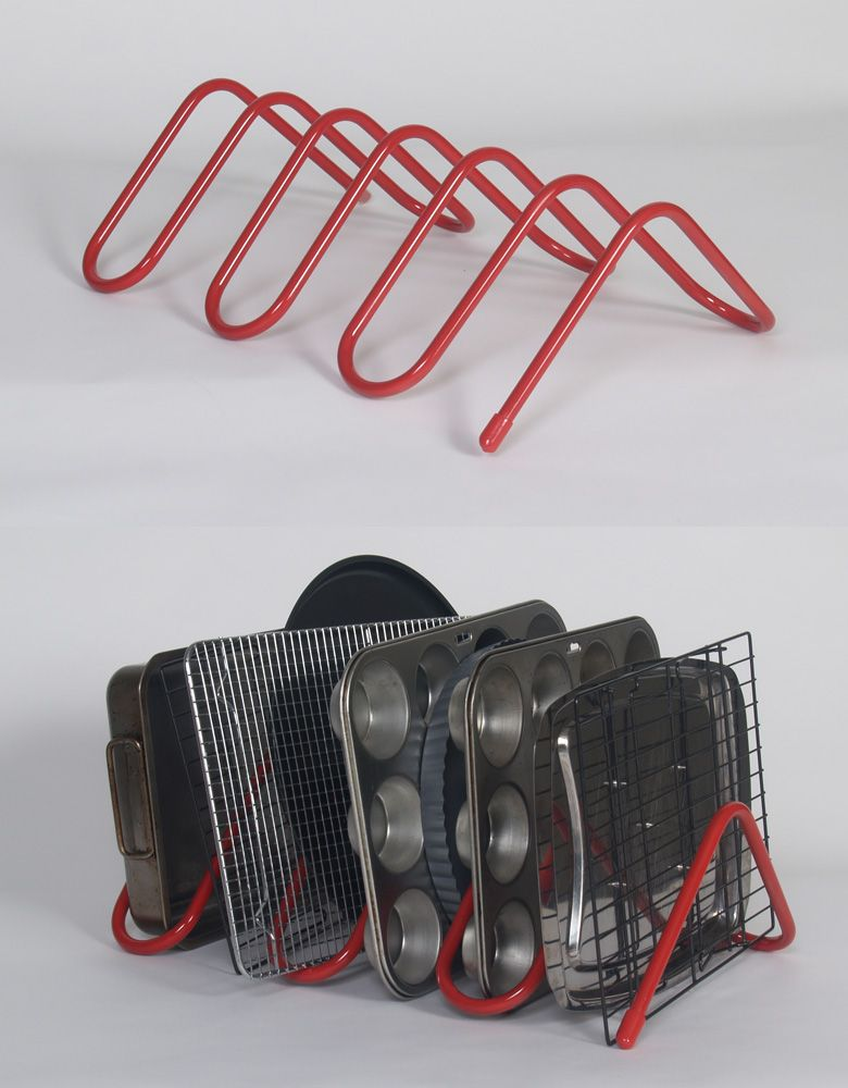Cakesnake Storage Rack For Bakeware