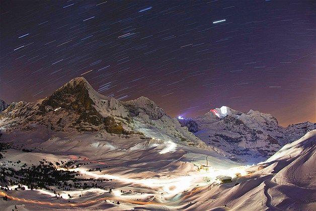 Imagem: Kleine Scheidegg (© MICHAEL BUHOLZER/Reuters) A cidade entre as montnhas fica na Suíça