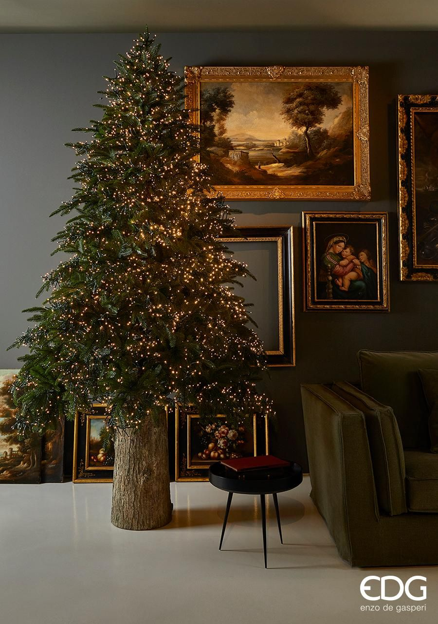 Natale Edg.Home Edg Enzo De Gasperi Alberi Di Natale Tronco Home Decor