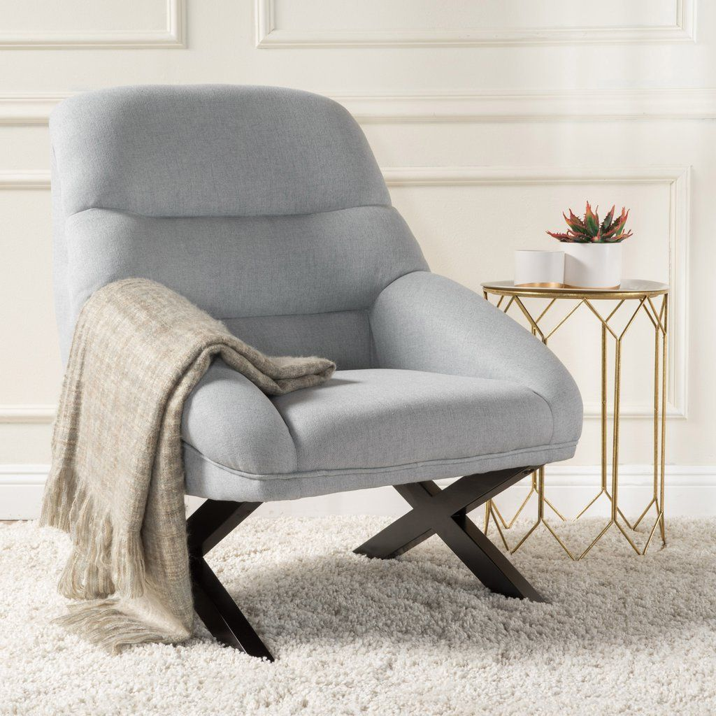 This Accent Chair Is A Great Addition For Any Room The X Shaped Legs Provide An Leather Chaise Lounge Chair Modern Accent Chair Most Comfortable Office Chair
