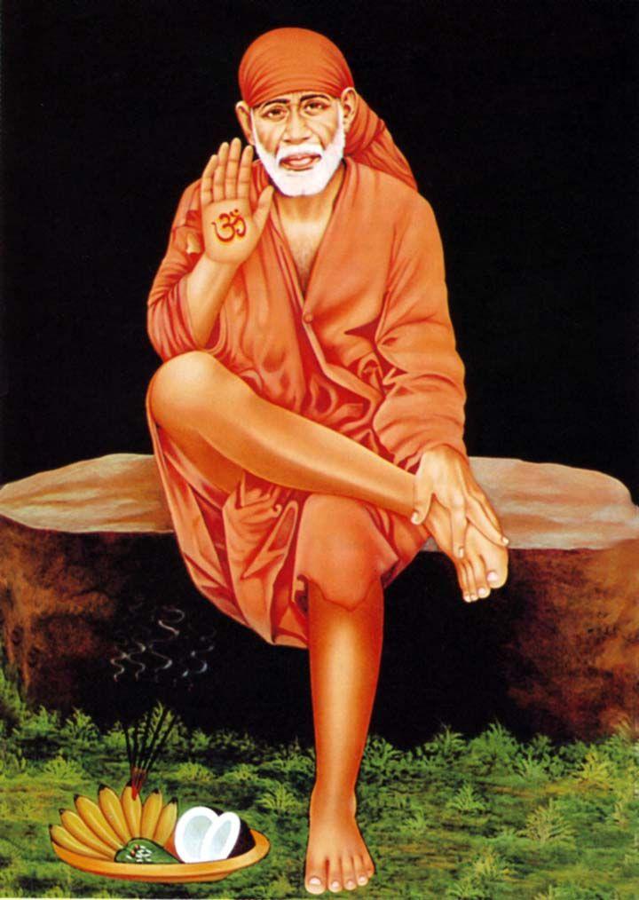 Resultado de imagem para shirdi sai baba images   Baba Sai ...