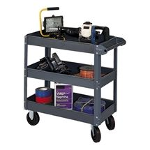 Edsal Heavy-Duty Steel Service Cart w/ Three Shelves https://www.schooloutfitters.com/catalog/product_family_info/cPath/CAT467_CAT1623/pfam_id/PFAM8053