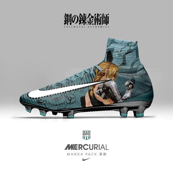 super popular 81a7b 997bb Nike Mercurial Superfly Manga Concept Boots Pack by Graphic UNTD - Footy  Headlines