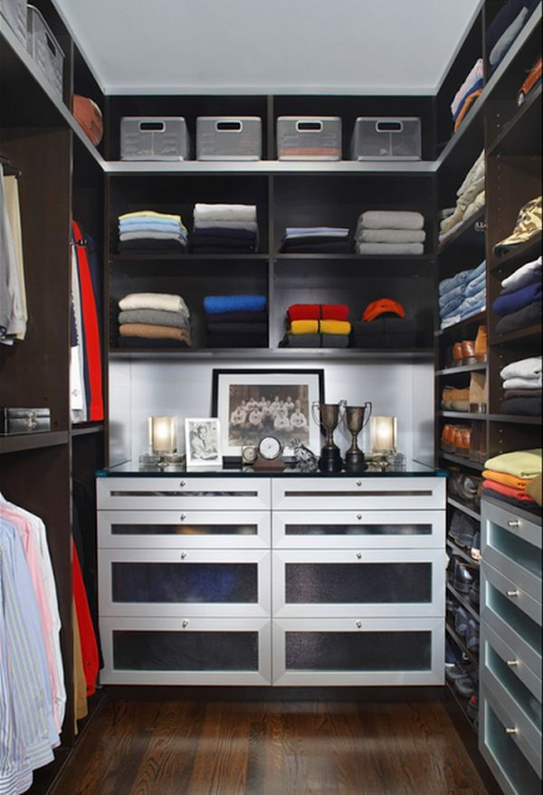 Clothes Storage Solutions That Work Well For Men Closet Designs Walk In Closet Design Home Bedroom storage ideas mens