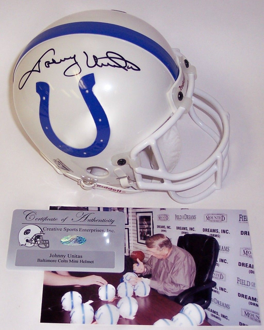 e019f737 Pin by AAA Sports Memorabilia on Baltimore Colts Autographs & Sports ...